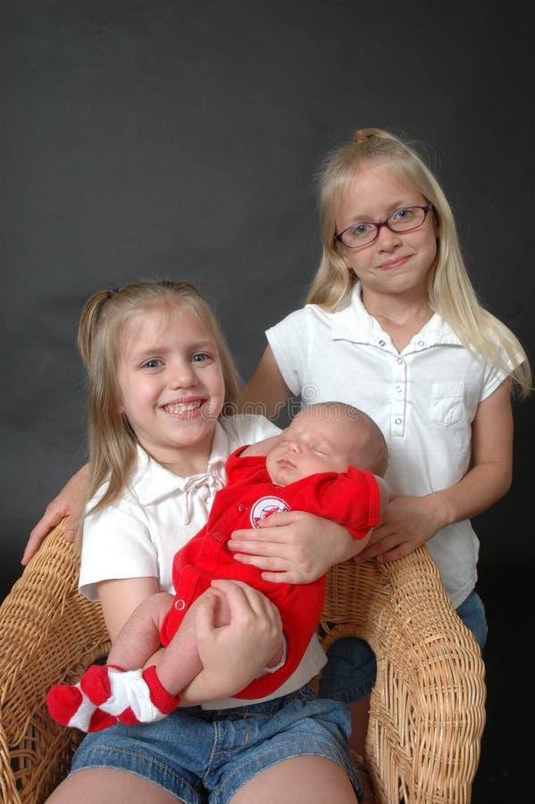 Nosso irmão do bebê fotografia de stock royalty free