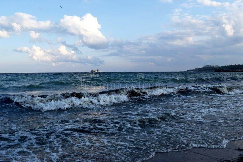 Nosso mar bonito favorito de Odessa fotos de stock
