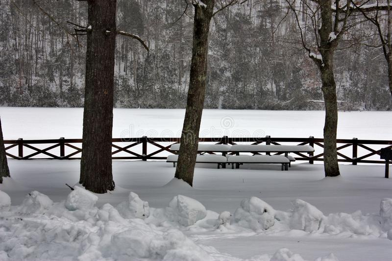 Nosso parque estadual foto de stock