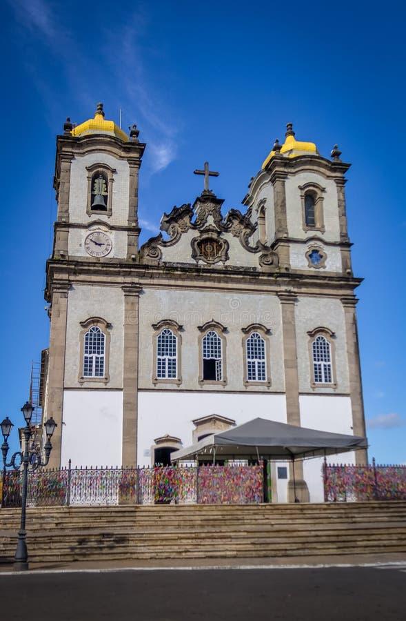Nosso Senhor hace la iglesia de Bonfim DA Bahía - Salvador, Bahía, el Brasil imagen de archivo libre de regalías