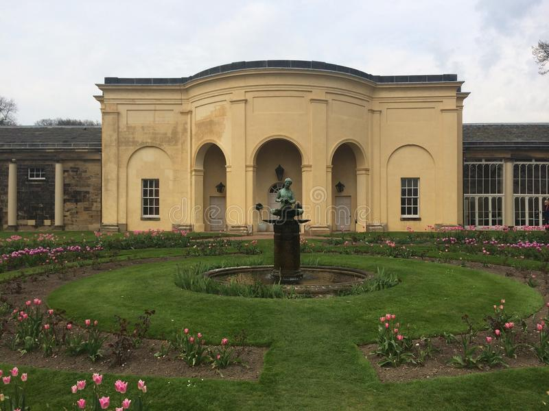 Nostal priory stock photography