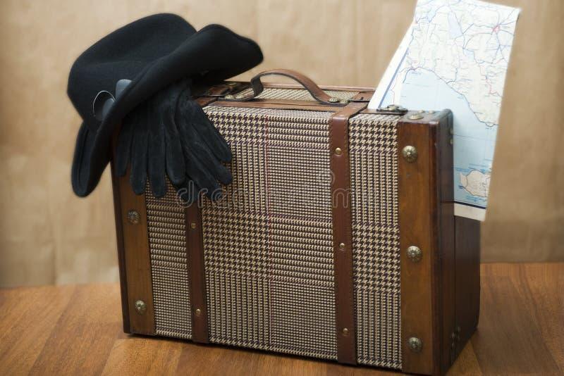 Download Nostalgia stock photo. Image of baggage, glove, travel - 8124850