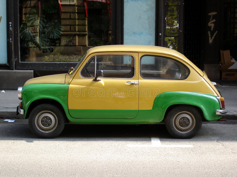 Old FIAT car royalty free stock images