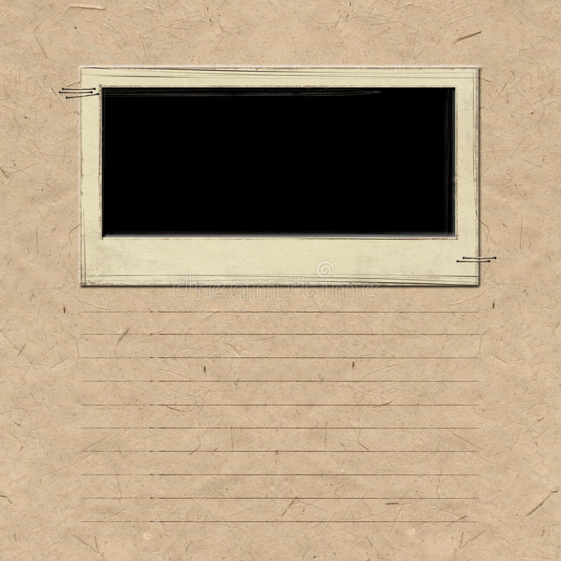Download Nostalgia Scrapbook Frame Background Stock Photo - Image: 13144210