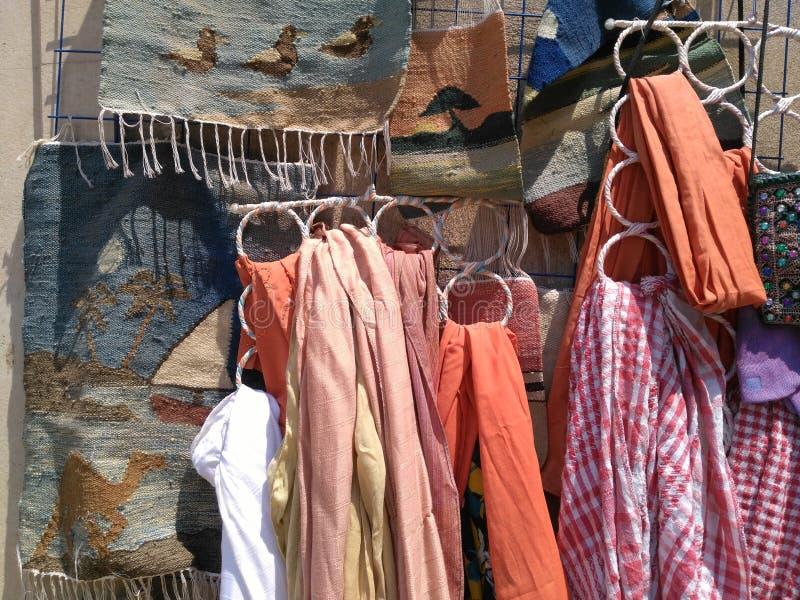 Nostalgie en kleren stock afbeelding