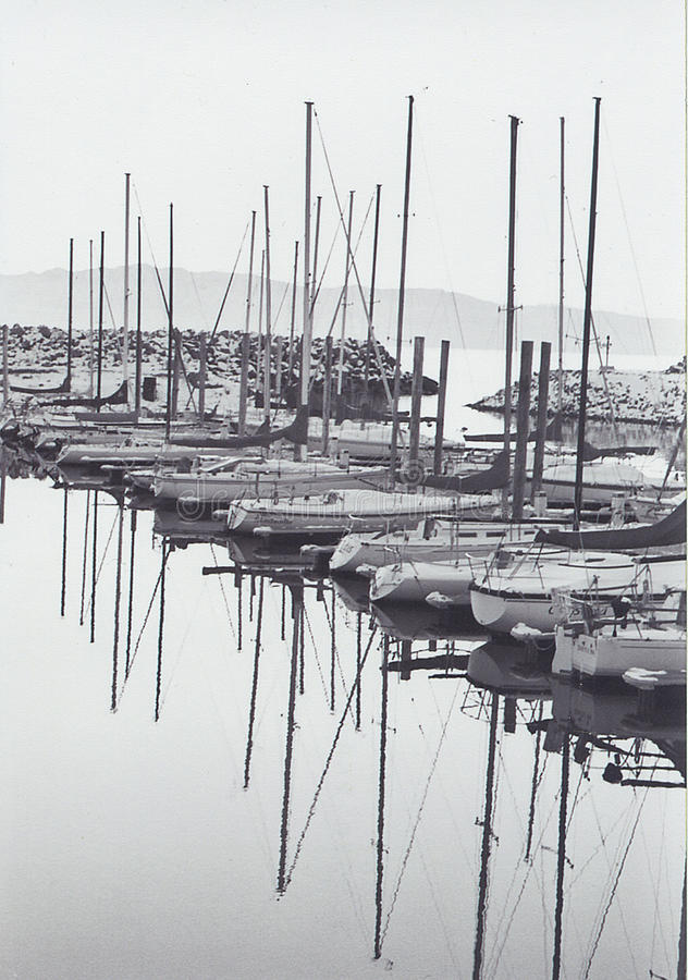 Nostalgischer symmetrischer Winter lizenzfreies stockbild