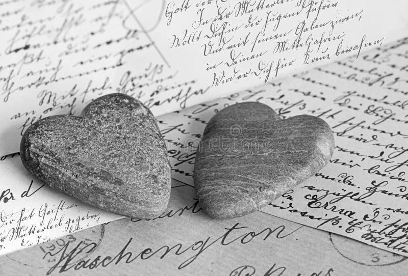 nostalgiska hjärtor fotografering för bildbyråer