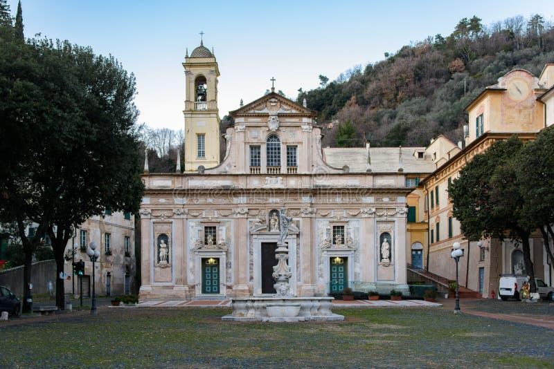 Nostra夫人della萨沃纳Misericordia圣所  免版税库存图片