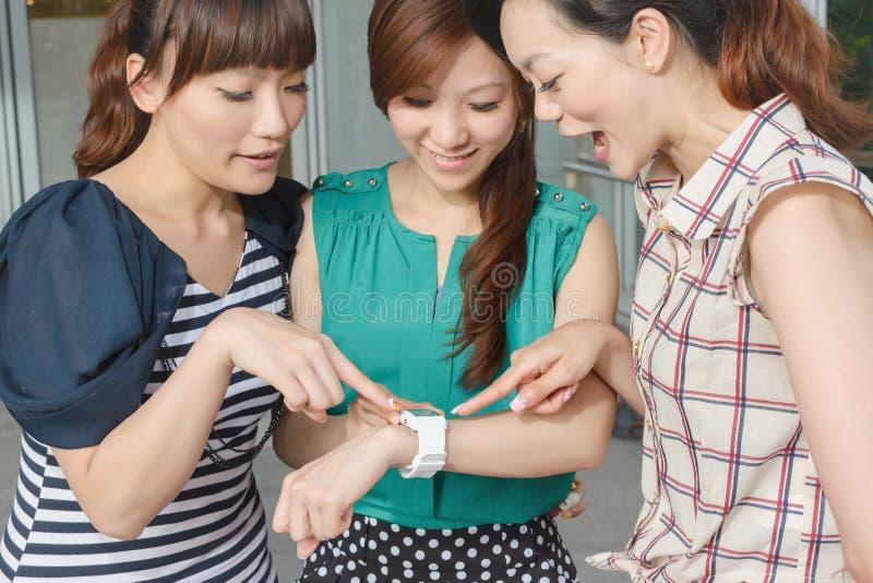 Noszony zegarek zdjęcie stock