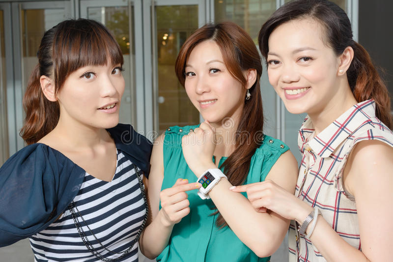 Noszony zegarek obrazy royalty free