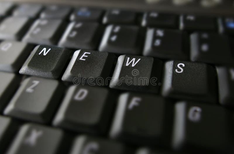 Notícia fotografia de stock