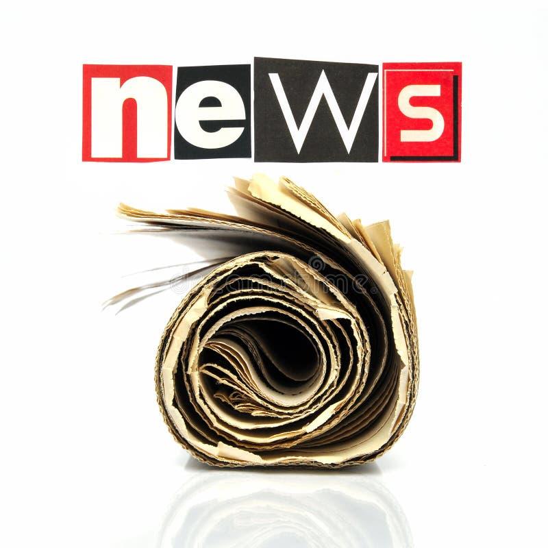 Notícias fotografia de stock
