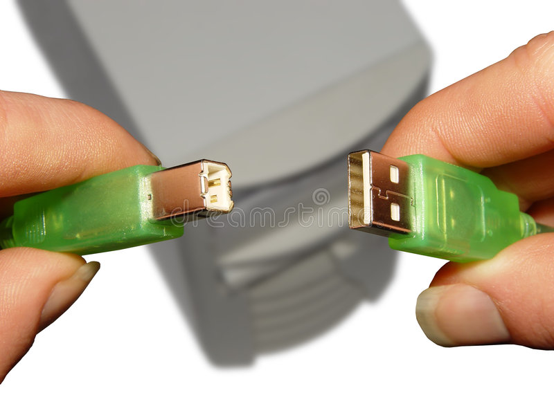 Not compatible (clipping path) stock image