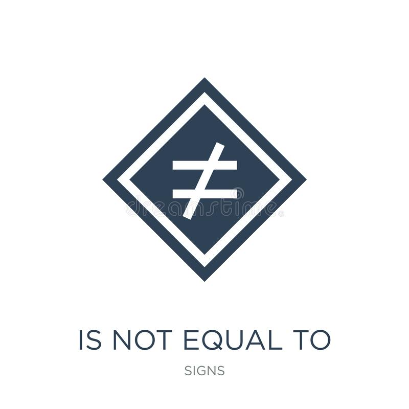 is not equal to icon in trendy design style. is not equal to icon isolated on white background. is not equal to vector icon simple vector illustration