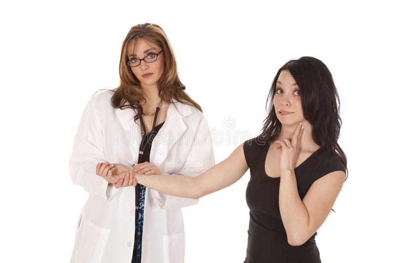 Download Not good pulse stock image. Image of horizontal, doctor - 19808165