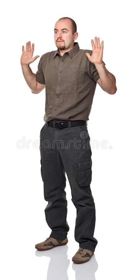Download Not me stock photo. Image of looking, look, white, scary - 25946004