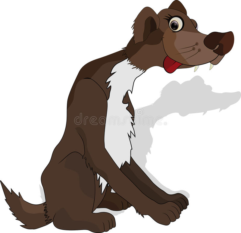 Download Not purebred dog stock vector. Image of canine, despair - 12851209