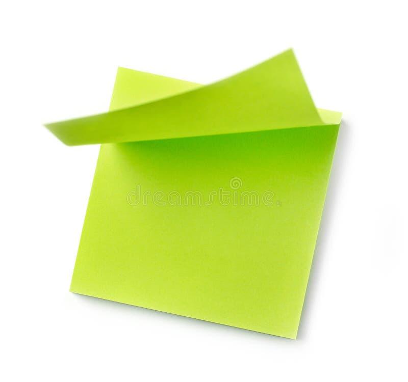 Nota adesiva fotografie stock