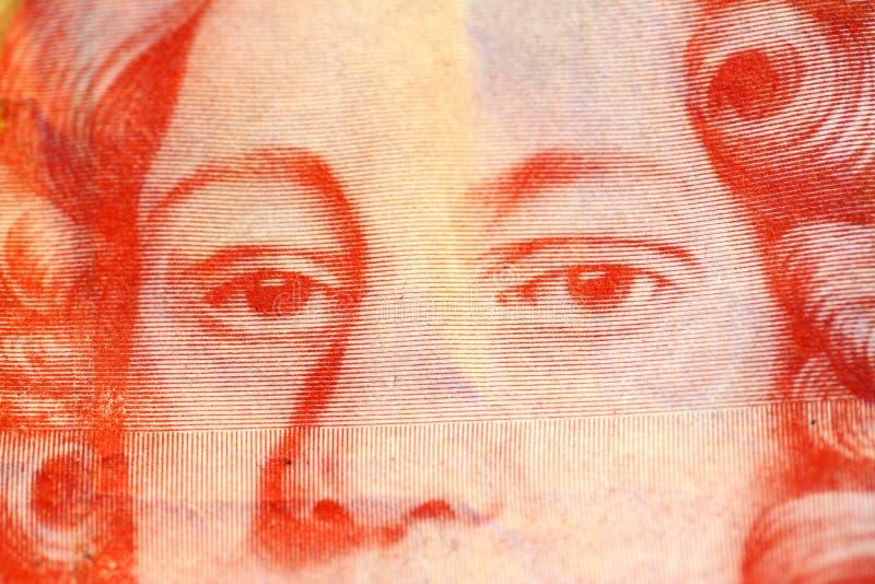 Nota da libra fotografia de stock royalty free