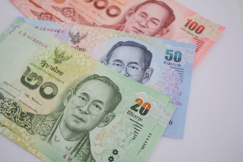 Nota de banco tailandesa imagens de stock royalty free