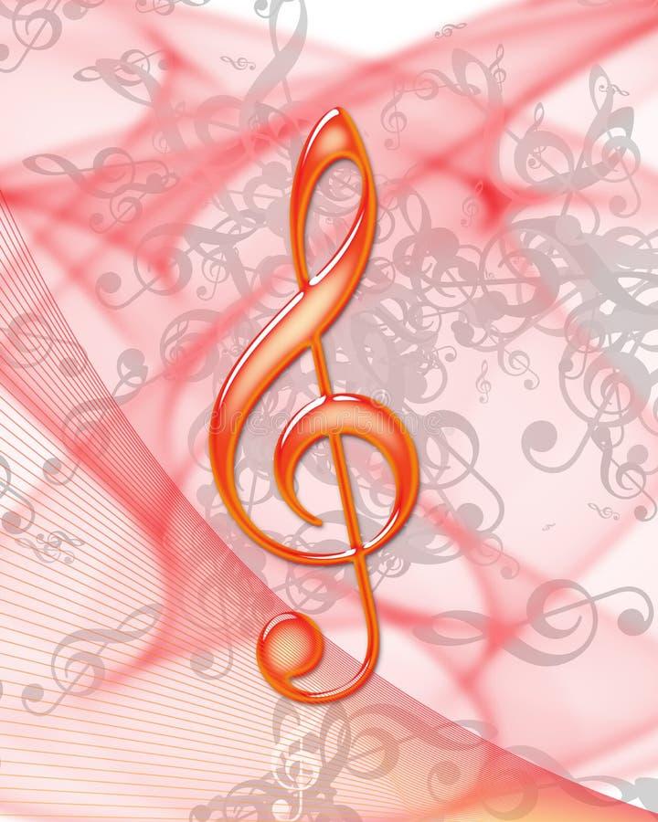 Nota di musica illustrazione vettoriale