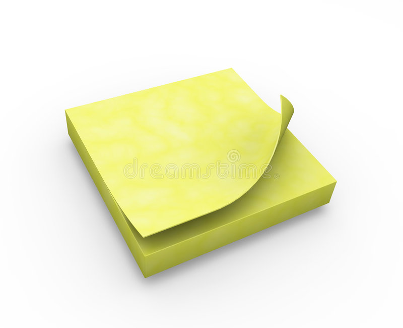 Nota di post-it royalty illustrazione gratis