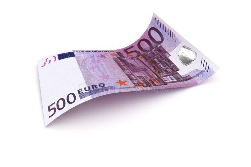 Nota di valuta dell'Unione Europea dell'euro 500 illustrazione vettoriale