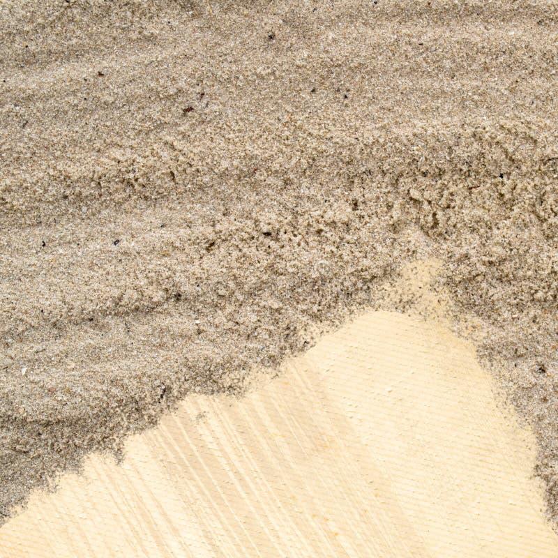 Download Nota Do Papel Em Branco Na Textura Da Praia Da Areia Foto de Stock - Imagem de ecology, ninguém: 26522192