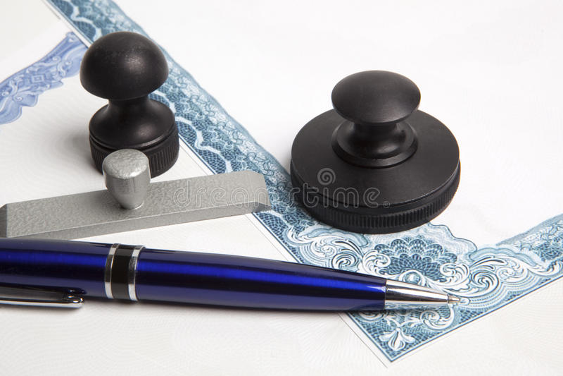 Notariusza społeczeństwa atramentu znaczek zdjęcie stock