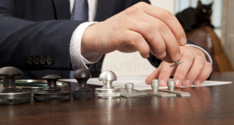 Notary royalty free stock image