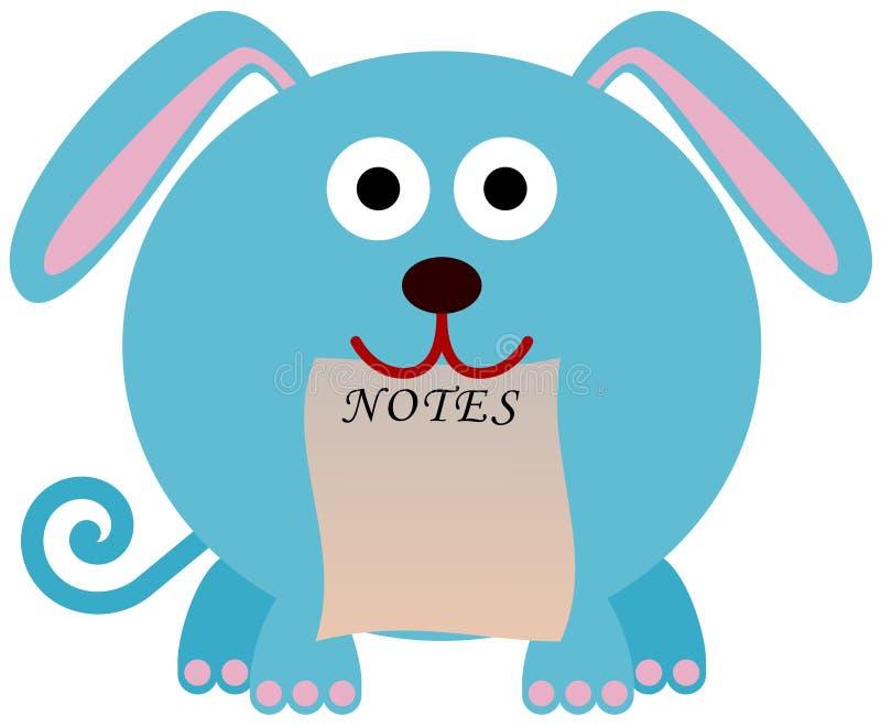 Notas Caninos Imagens de Stock Royalty Free