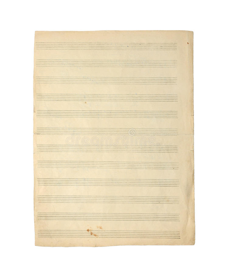 Notas da música. imagem de stock royalty free