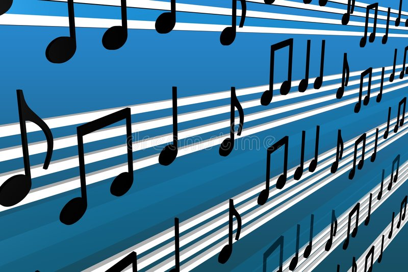 Notas Da Música Fotos de Stock Royalty Free
