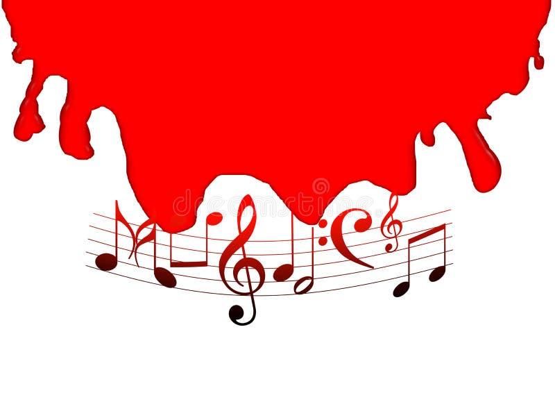 Download Notas de la música stock de ilustración. Ilustración de musical - 7281466