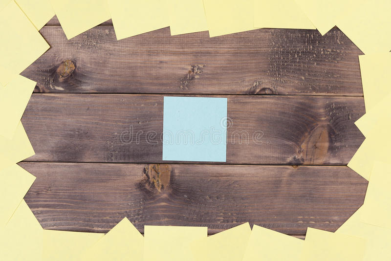 Notas, etiquetas engomadas fotografía de archivo