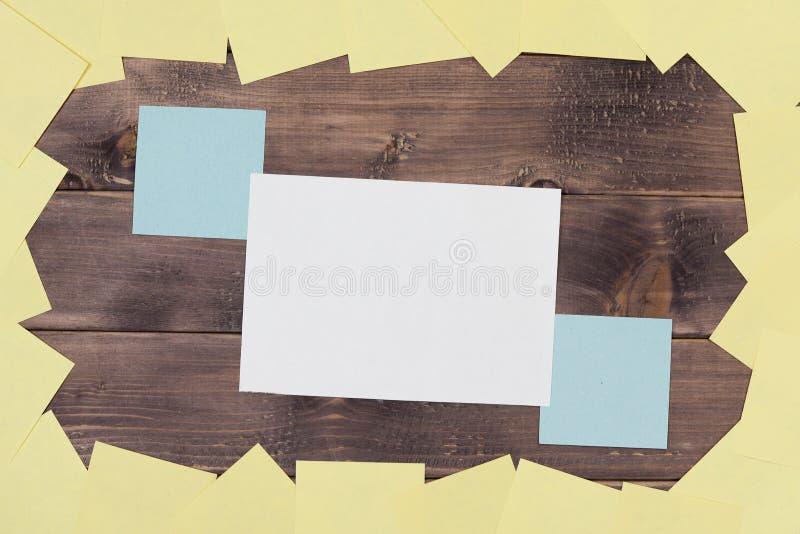 Notas, etiquetas engomadas imágenes de archivo libres de regalías
