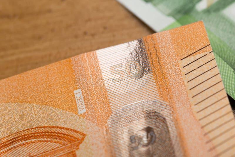 50 notas euro - imagen foto de archivo libre de regalías