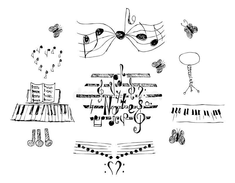 Notas fijadas libre illustration