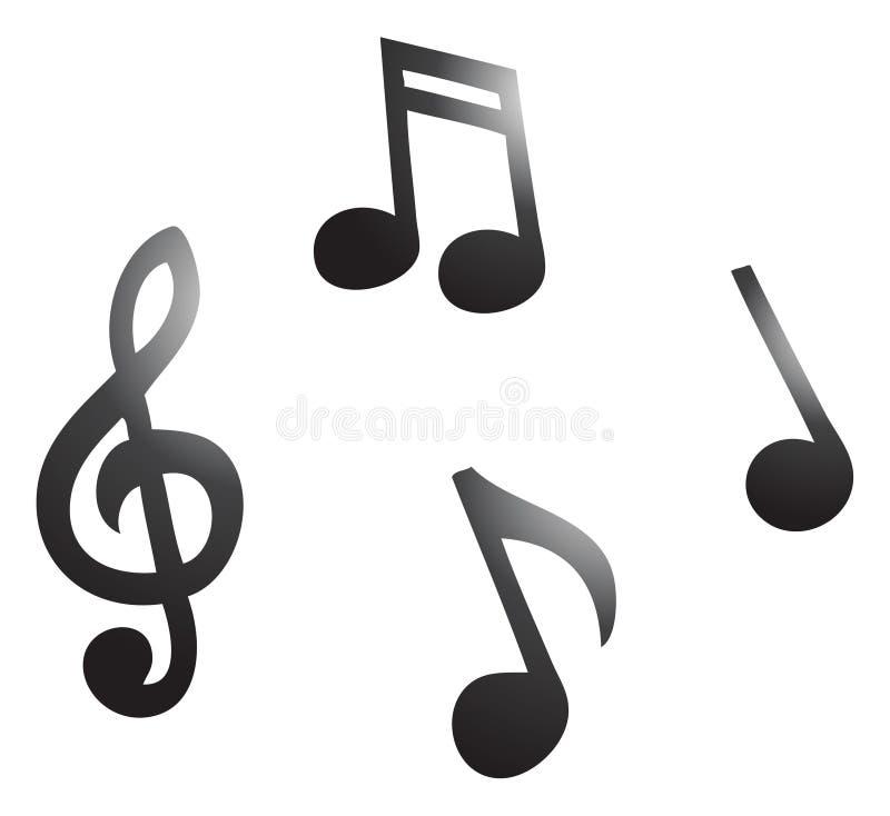 Foto Nota Musical ~ Notas Musicais Foto de Stock Royalty Free Imagem 17516345