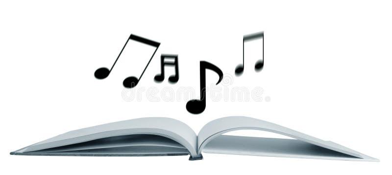 Notas musicales fotografía de archivo libre de regalías