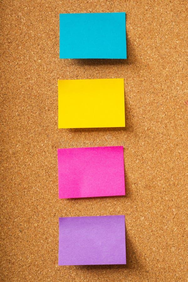 Download Notas pegajosas coloridas foto de stock. Imagem de informação - 29828168