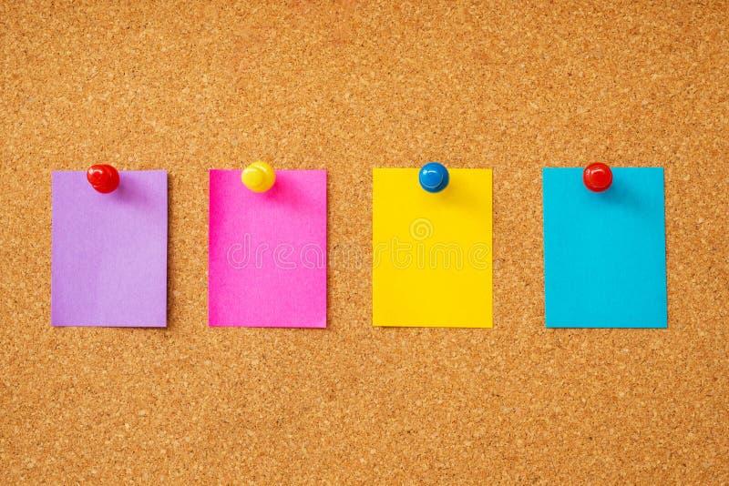 Download Notas pegajosas coloridas imagem de stock. Imagem de de - 29828175