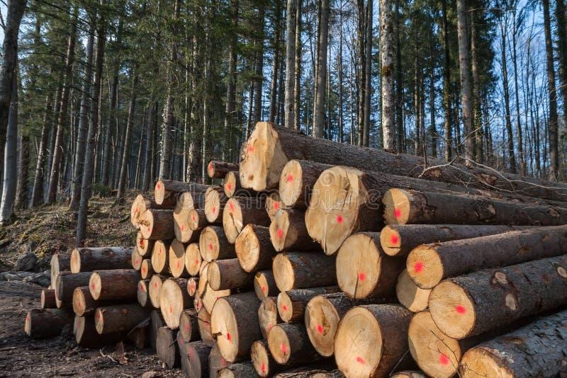 Notation de bois de construction images stock