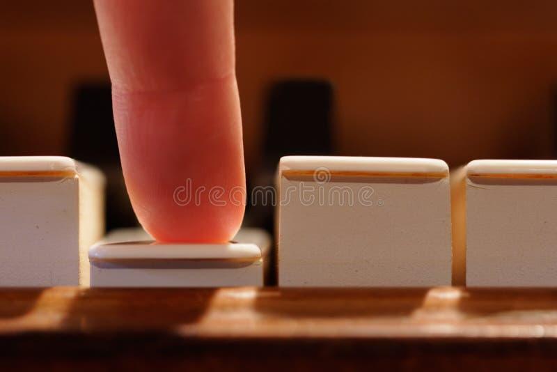 notatki grać makro zdjęcie stock