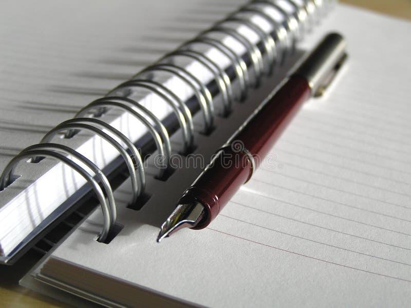 notatki książki długopis zdjęcia stock