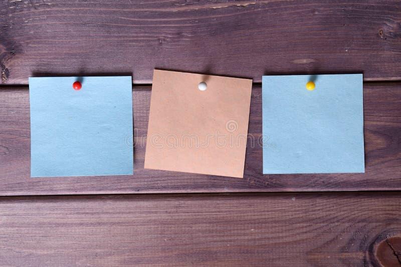 Notatki, majchery zdjęcia royalty free
