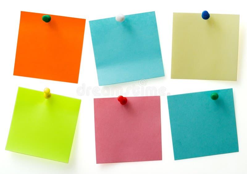 notatki poczta zdjęcia stock