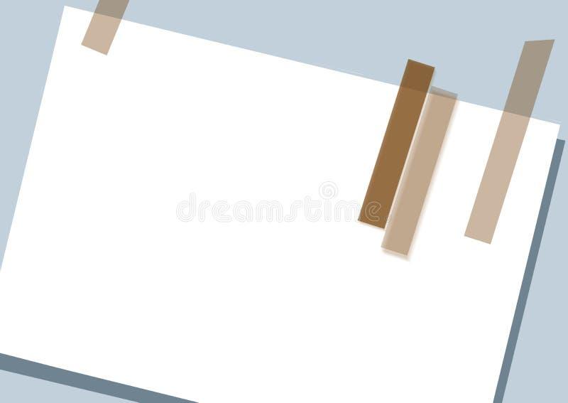 Notatki tła sztuki projekta technologii abstrakcjonistycznej strony internetowej biznesowa elegancka karciana kartoteka ilustracja wektor
