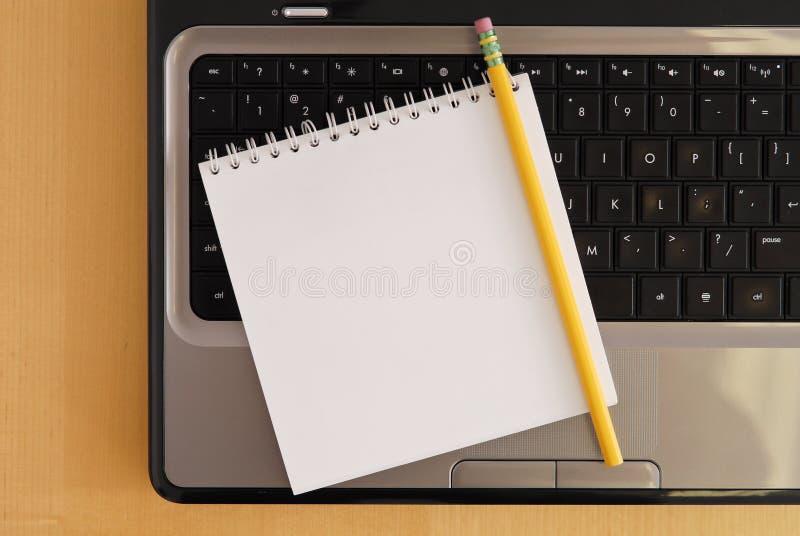 notatki zabranie obraz stock