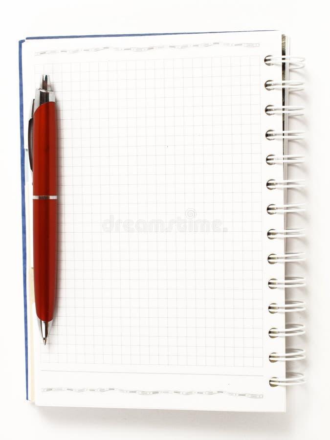 Download Notatnik zdjęcie stock. Obraz złożonej z pióro, wykład - 13334060